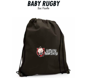 Sacs à ficelles BABY RUGBY