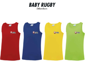 Débardeurs BABY RUGBY